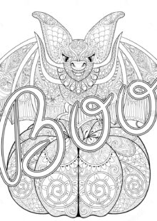 halloween coloring pages – 8